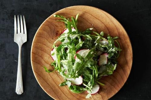 Radish and Arugula Salad with Pecorino and Lemon Recipe on Food52