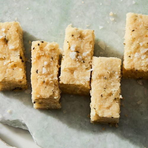 Carla Lalli Music's Salted Rosemary Shortbread
