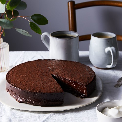 Chocolate Nemesis Cake Recipe from The River Cafe London