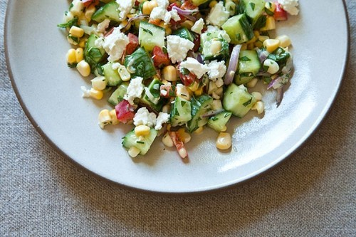 Dilled, Crunchy Sweet-Corn Salad with ButtermilkDressing