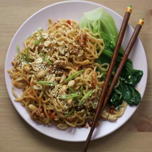Spicy Pork Ramen Noodles Recipe on Food52