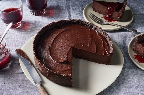 Farmacy Kitchen's Raw ChocolateTart