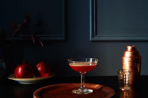 Bitter Bourbon Citrus Cocktail