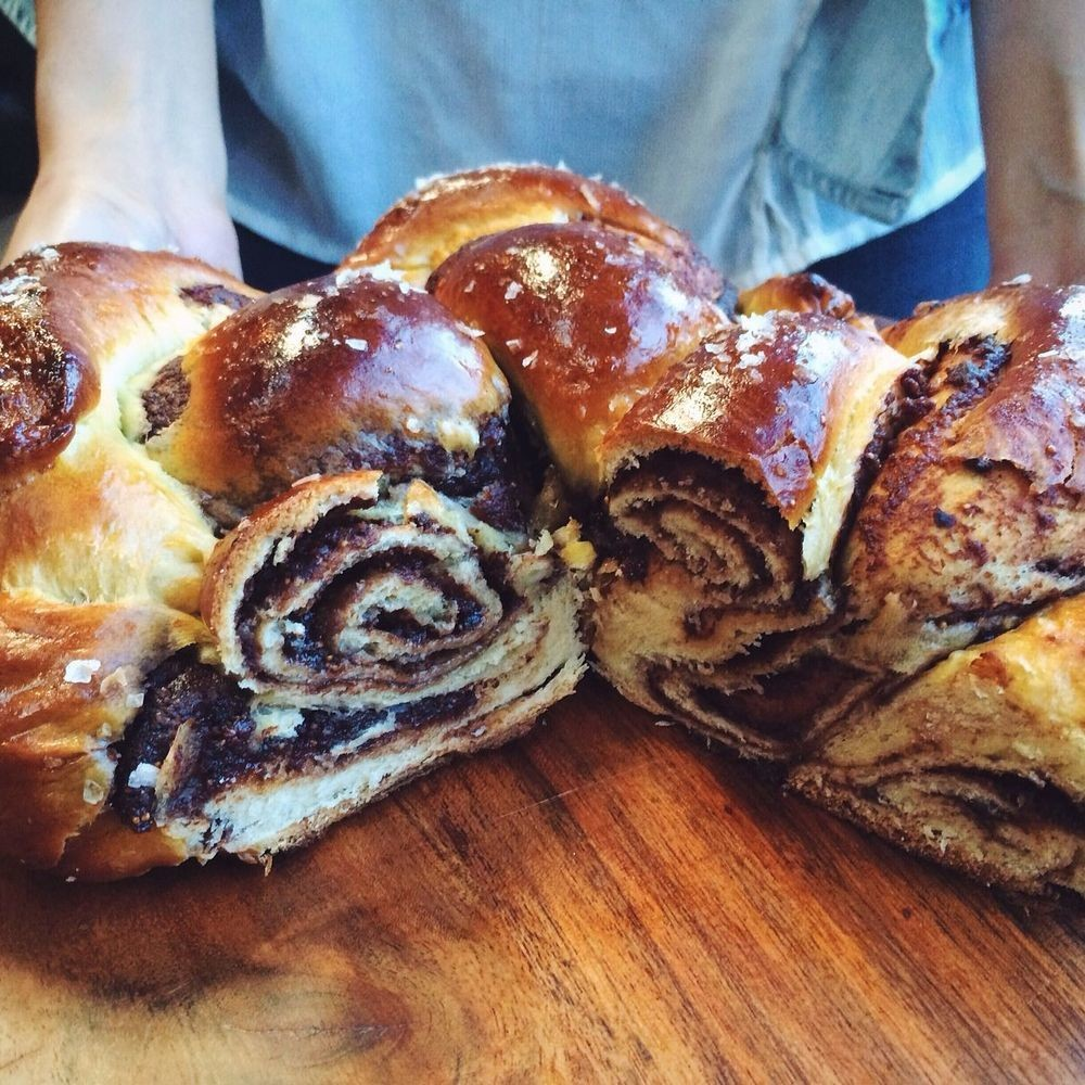 Fig Butter & Nutella Challah Recipe on Food52