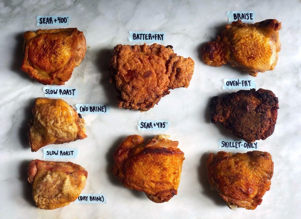 The Absolute Best Way to Cook Chicken Thighs, According to So Many Tests