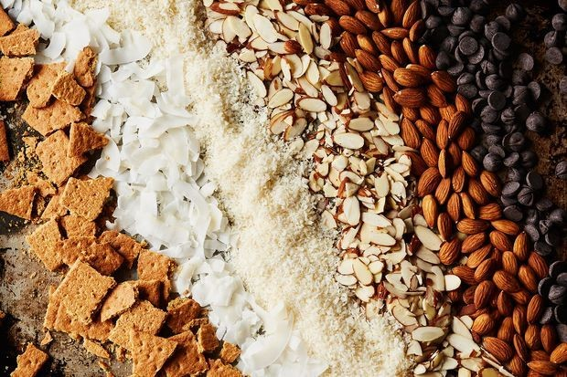 Frozen Vegan Coconut Chocolate AlmondBars