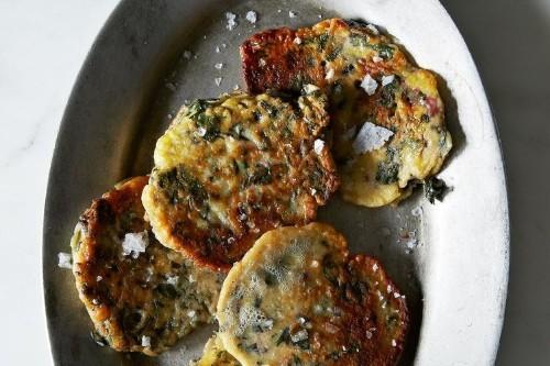 Clotilde Dusoulier's Green Pancakes