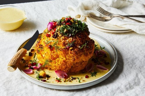 ABCV Whole Roasted Cauliflower Recipe & Chef Neal Harden Interview