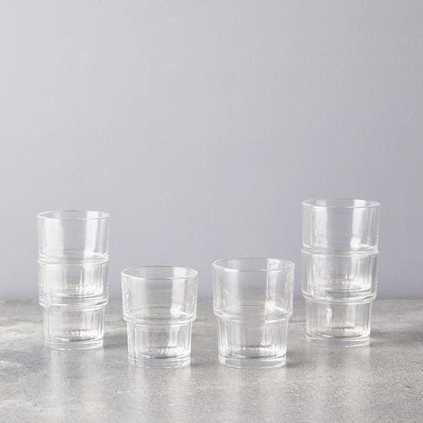 Italian Crinkle Glasses (Set of 6) on Food52
