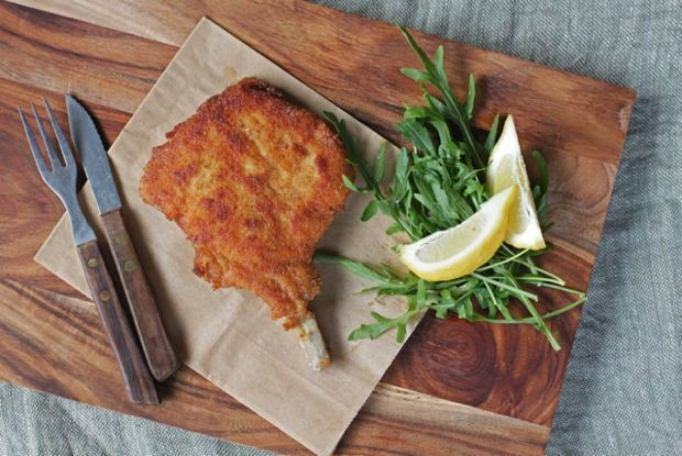 Breaded Veal Cutlets Milanese - Italian Food Recipes