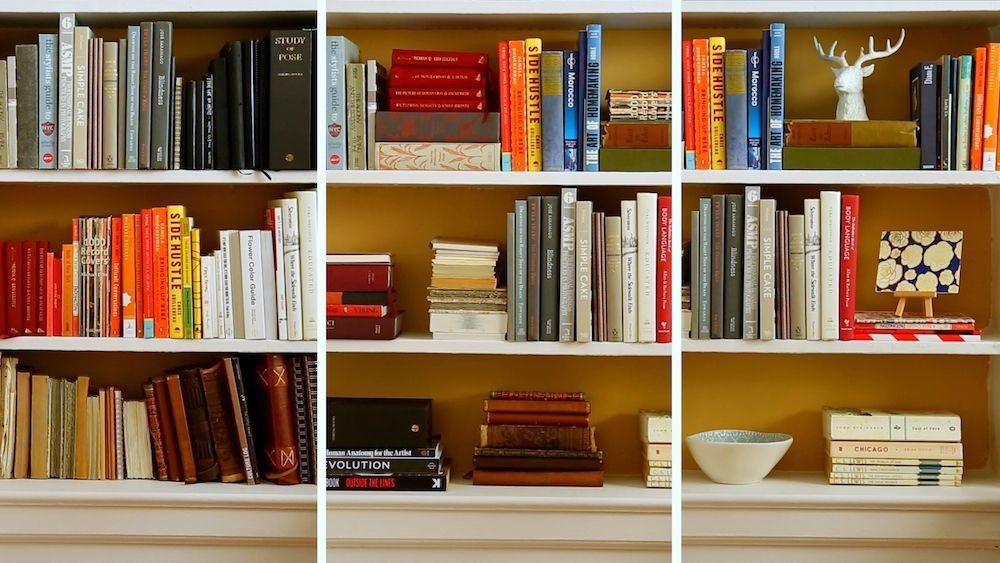 3 Good-Looking Ways to Organize Your Bookshelves