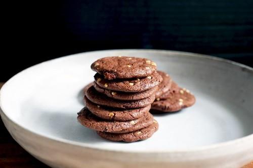 Fudgy Condensed MilkCookies