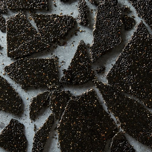 A 3-Ingredient Black Sesame Brittle for Lonely Hearts