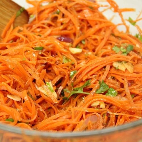 Korean Carrot Salad Recipe on Food52