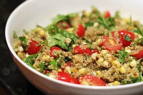 Summer Quinoa Salad,Mexican-Style