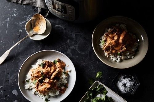 Urvashi Pitre's Instant Pot Butter Chicken Recipe - Instant Pot Indian Recipe