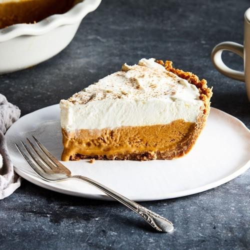 Pumpkin Cream Pie Recipe - Thanksgiving Dessert