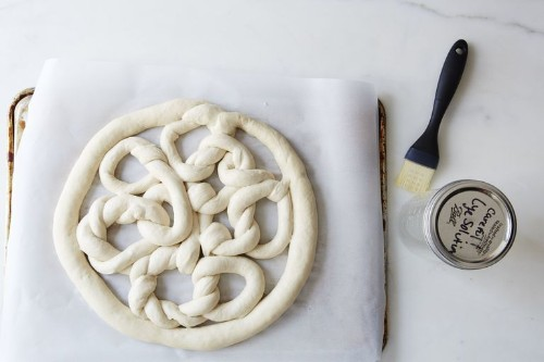 How to Make a Huge, Loopy, Party-Sized Pretzel
