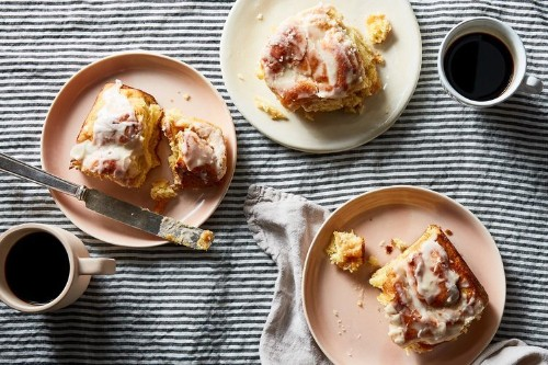 Peach Butter CinnamonRolls