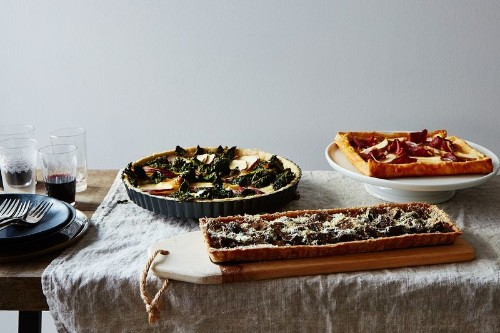 How to Make Your Ideal Savory Tart, in Any Shape, Size &Flavor