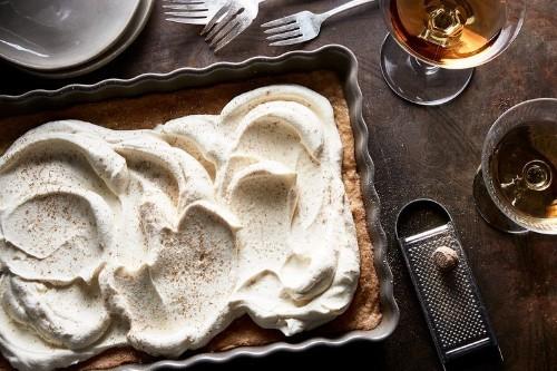 Eggnog Poke Cake  Recipe on Food52