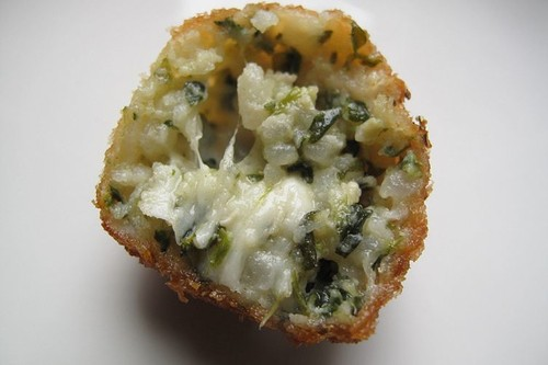 Spinach Arancini Recipe on Food52