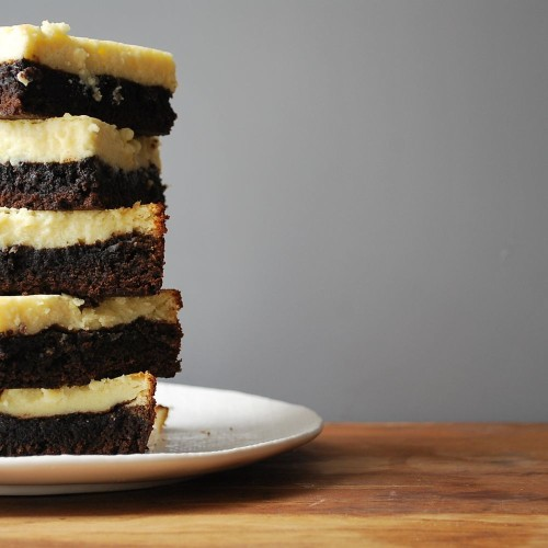 Cheesecake-Topped Brownies Recipe on Food52