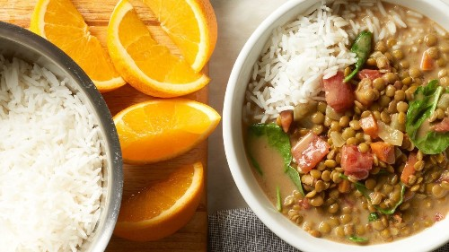 Slow-Cooker Indian-Spiced Lentils With Spinach Recipe on Food52