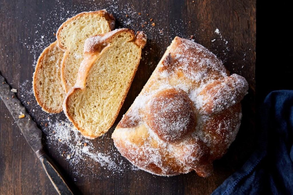 Pan de Muerto (Day of the Dead Bread)