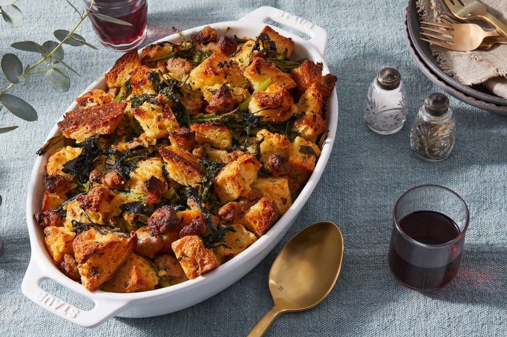 Sausage & Broccoli Rabe Stuffing