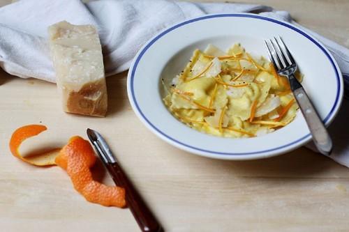 How to Make Italian Orange and Ricotta Ravioli