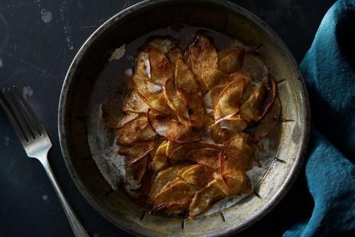 Brown Sugared Apples & Cream Recipe
