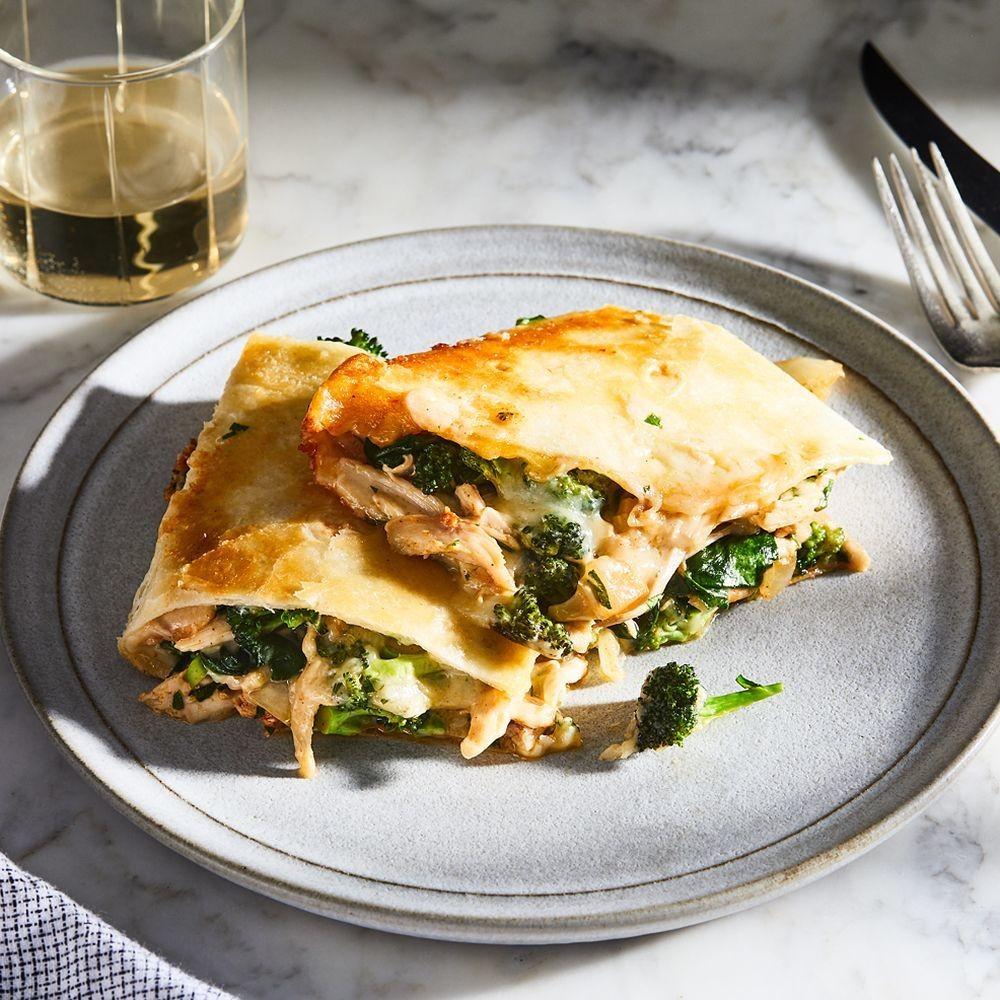 Chicken Quesadilla With Broccoli Recipe - How to Make Quesadillas