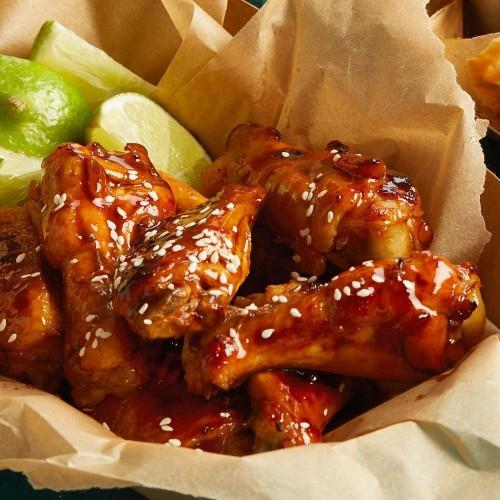 Slow-Cooker Hoisin-Glazed Chicken Wings Recipe on Food52