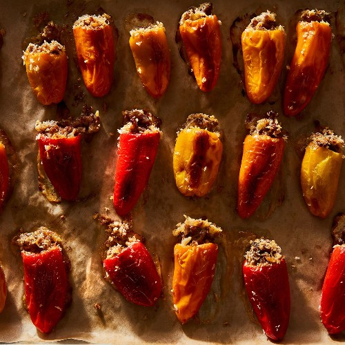 The Brazilian Cheese Spread That Makes for the Tastiest Stuffed Peppers in the World