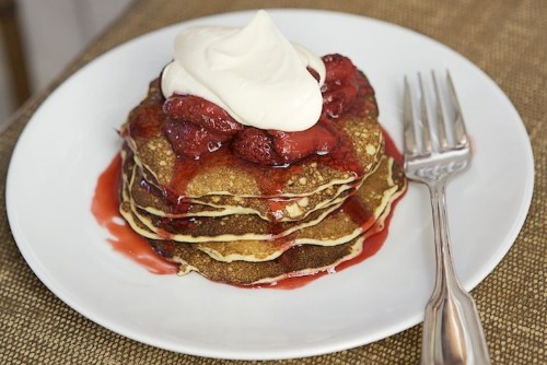 Cowgirl Creamery's Cottage Cheese Pancakes with Crème Fraîche - Breakfast Recipe