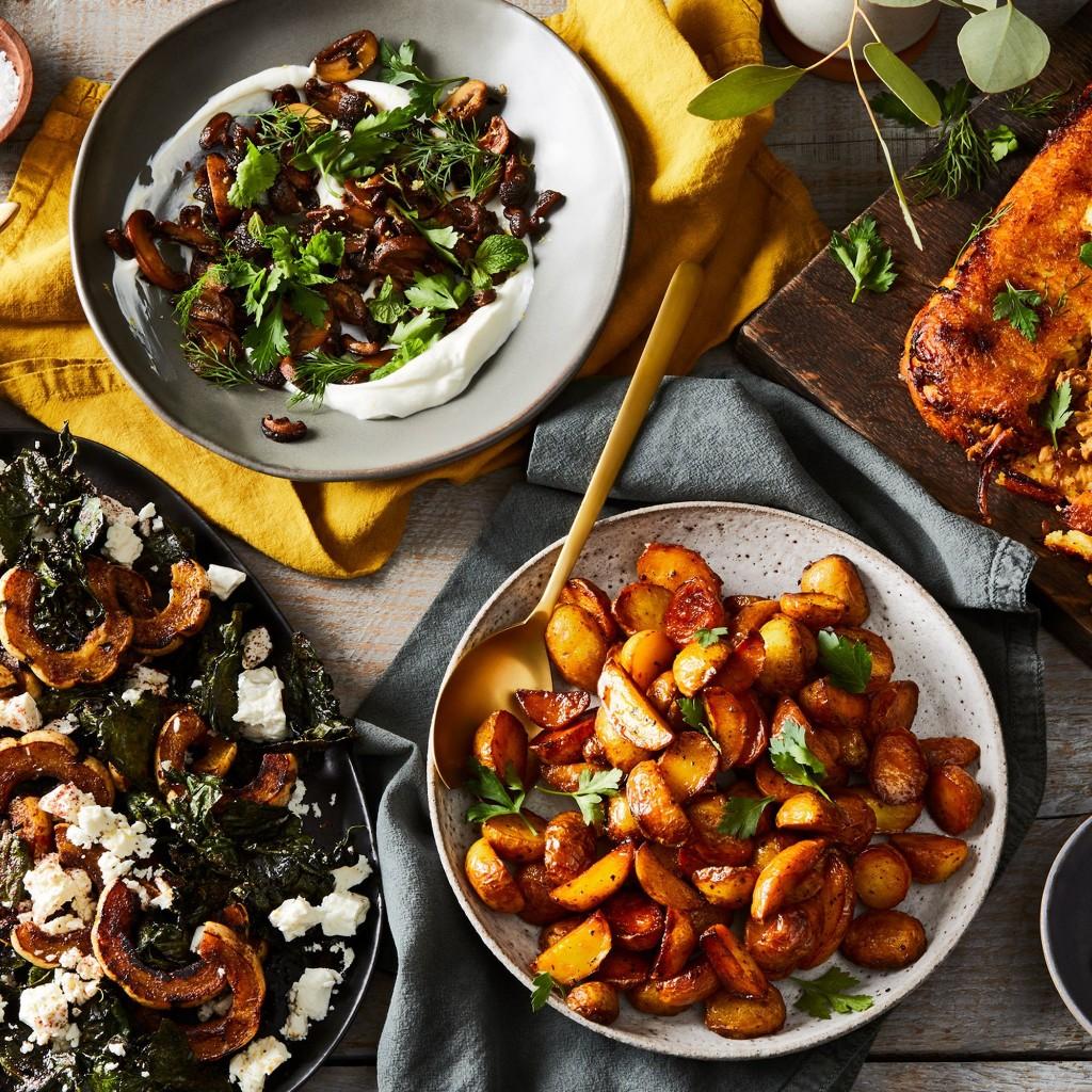 A Persian-Inspired Thanksgiving Menu Starring Crispy Rice & Chicken