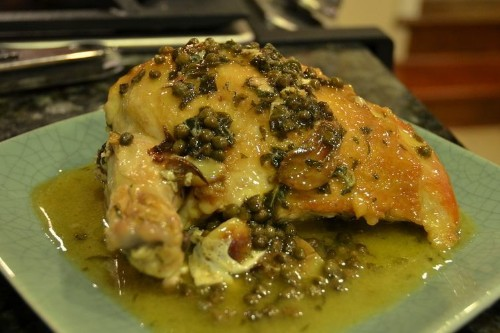 Arrivederci Florence! Chicken with Capers and Oregano Recipe on Food52