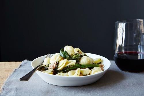 Orecchiette with Broccoli Rabe andSausage