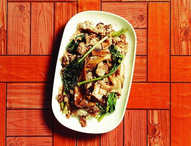 Phat Si Ew Recipe -- Thai Food