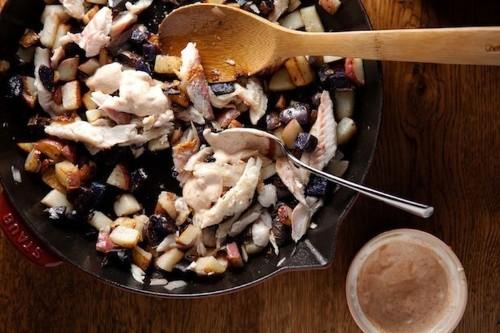 Skillet Potatoes with Smoked Fish and Smoked PaprikaAioli
