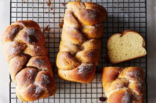 Finnish Cardamom-Coffee Bread(Nisu)