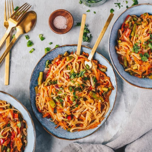 EASY VEGAN COCONUT CURRY NOODLE BOWLS Recipe on Food52