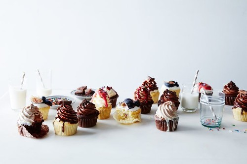 Basic Vanilla and Chocolate Cupcakes  Recipe on Food52