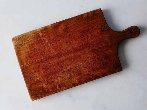 How to Refinish a Wooden CuttingBoard