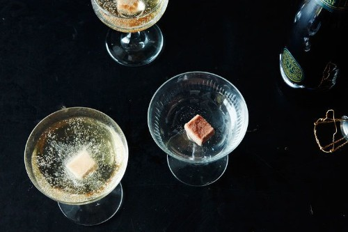 Carey Nershi's Angostura Sugar Cubes for ChampagneCocktails
