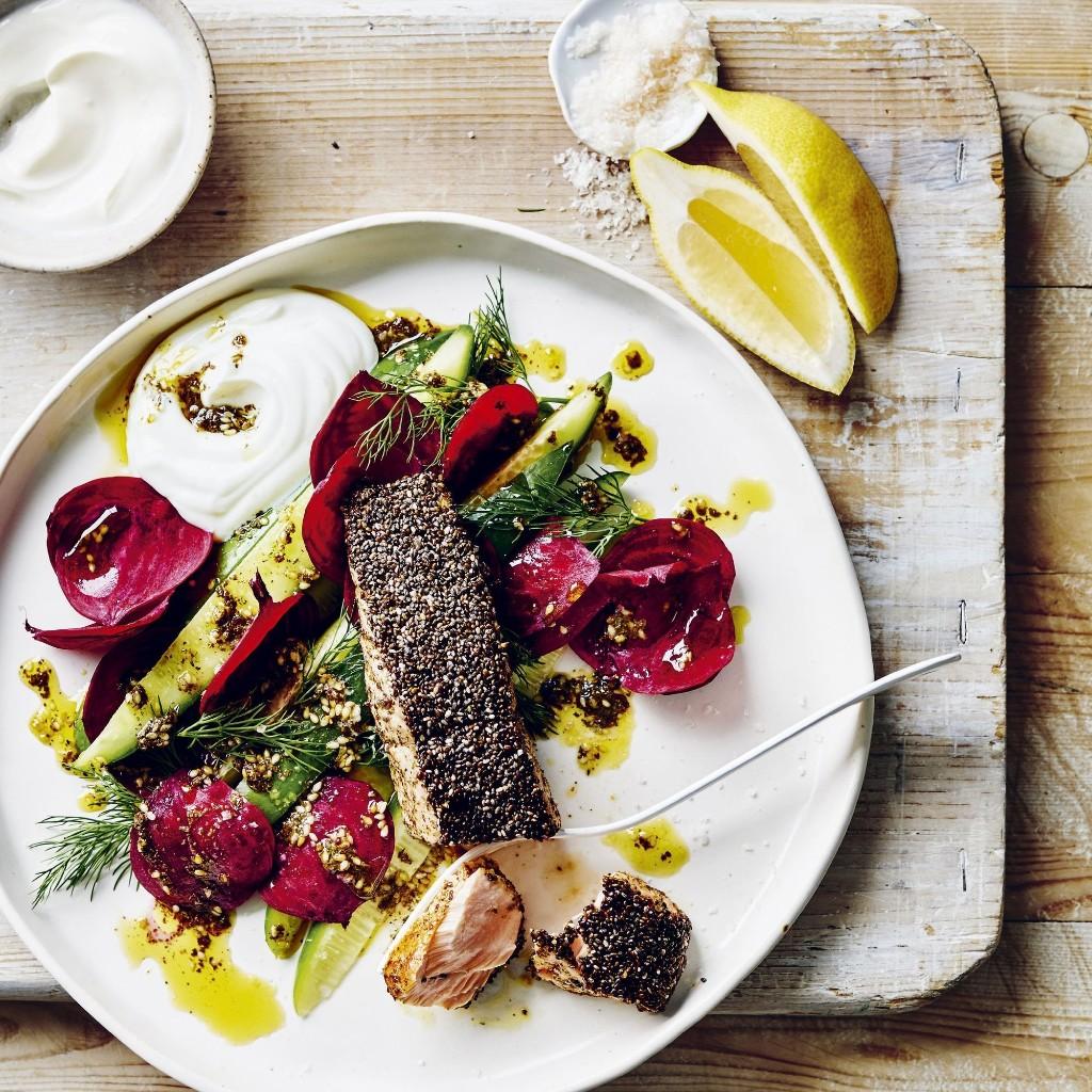 10-Minute Salmon With a Seedy Little Secret