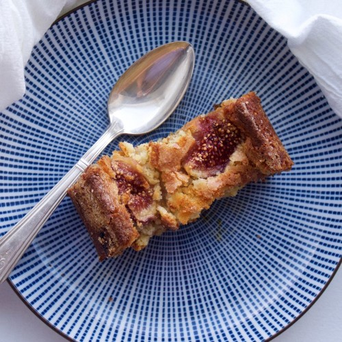 Fig, almond and ricotta cake Recipe on Food52