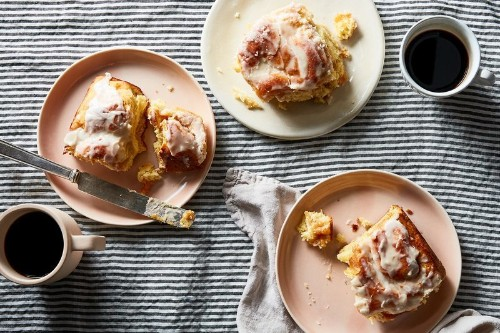 Perfect, Gooey Cinnamon Rolls Get a Peachy Upgrade