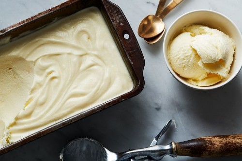 For the Silkiest Ice Cream, Add OneIngredient